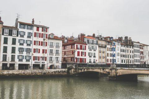 ballade le long de la nive à Bayonne