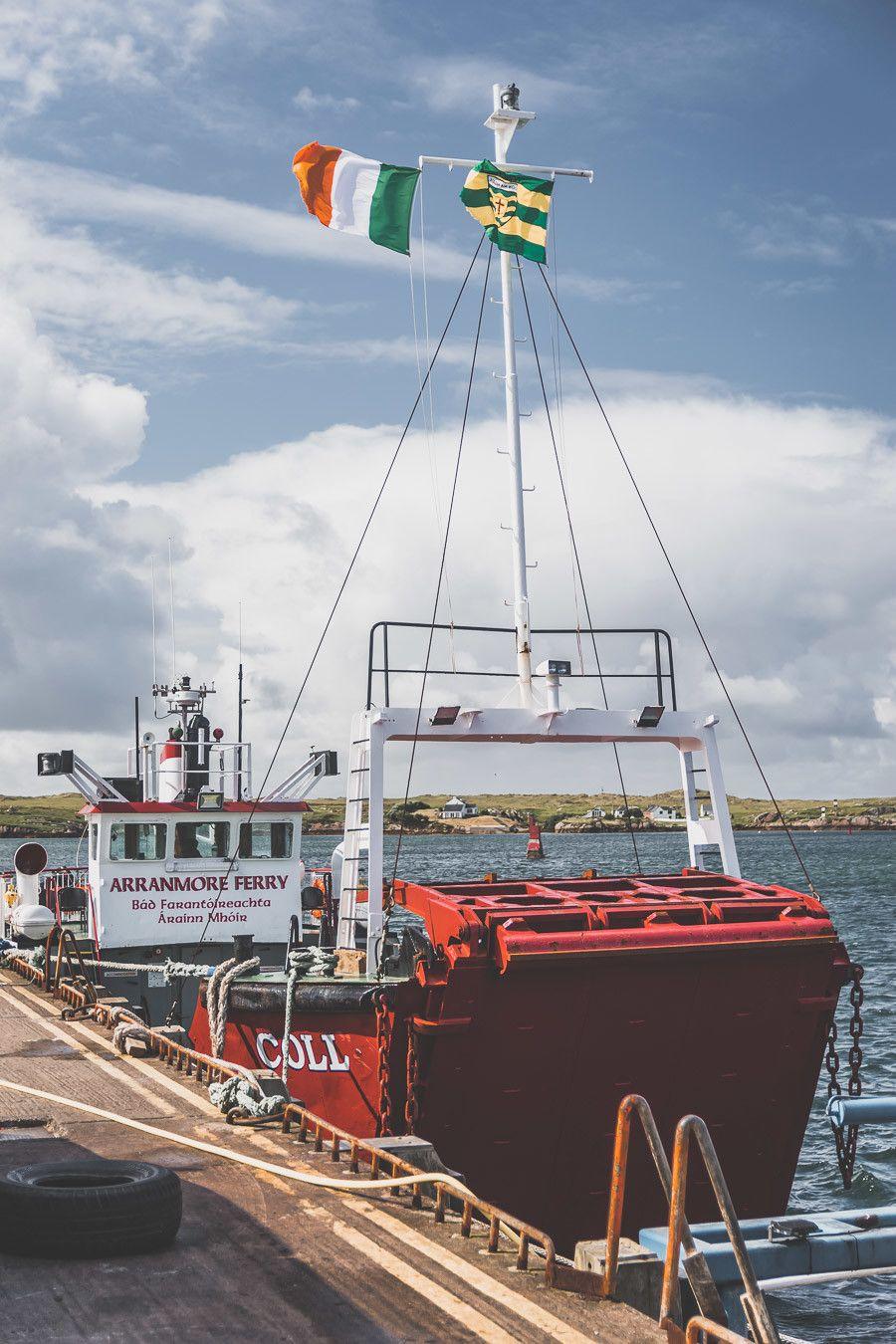 Port de pêche en Irlande