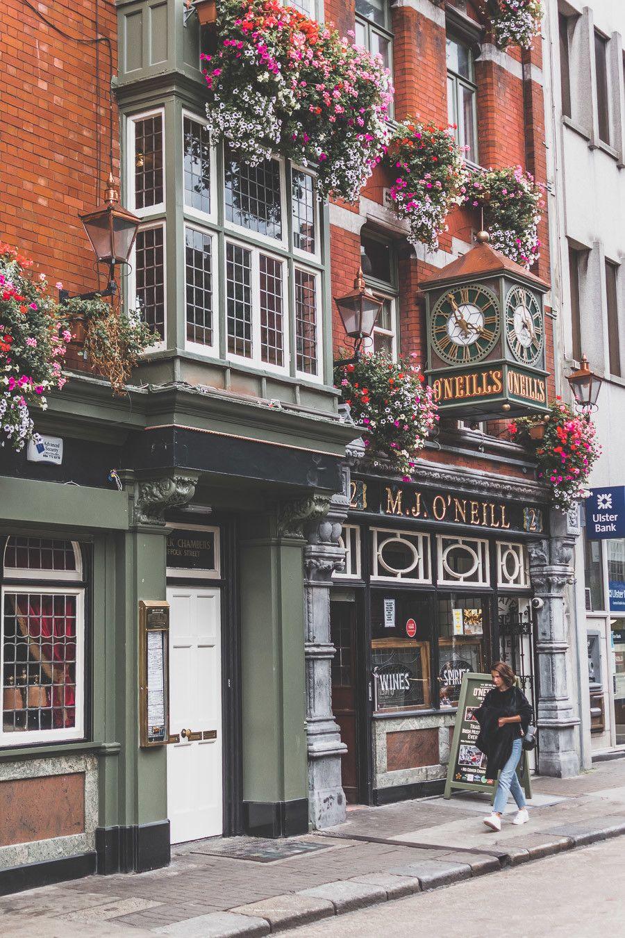 rues irlandaises