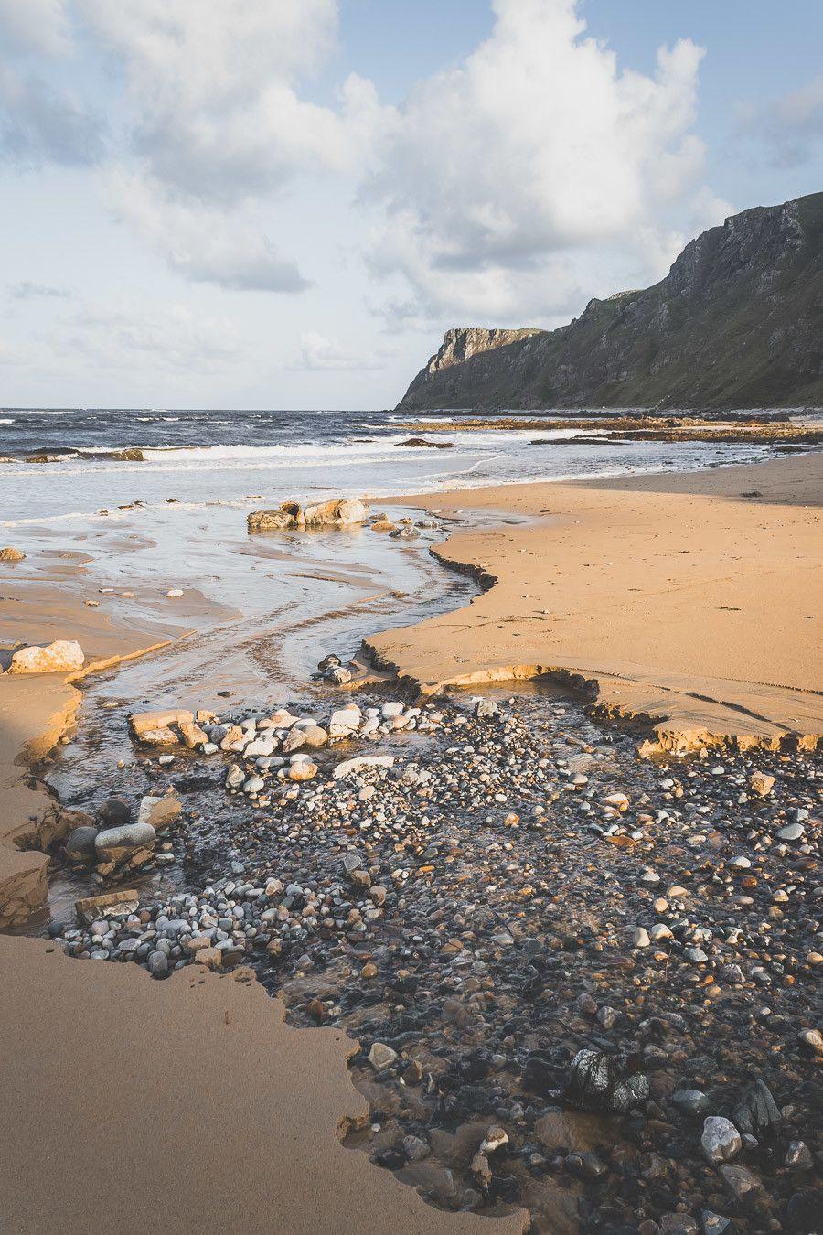 road trip iralnde - plage de sable fin