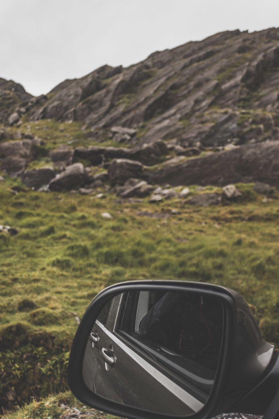 vue sur les paysages dans le retro en irlande