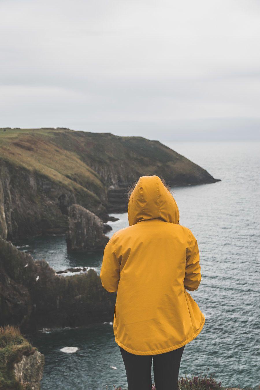 Vue sur les falaises du comté de Cork - Old Head of Kinsale