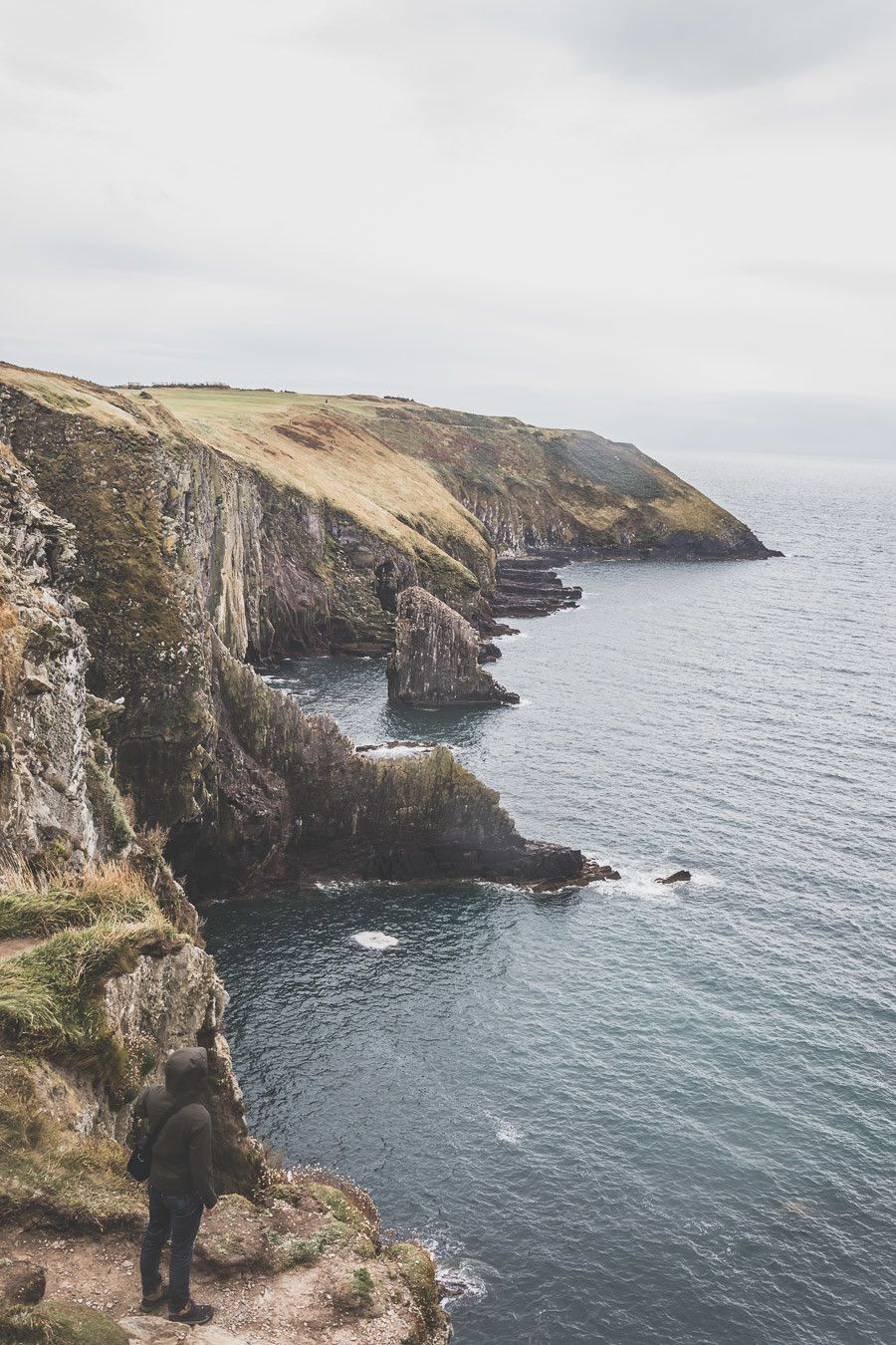 Les falaises de la Old Head of Kinsale