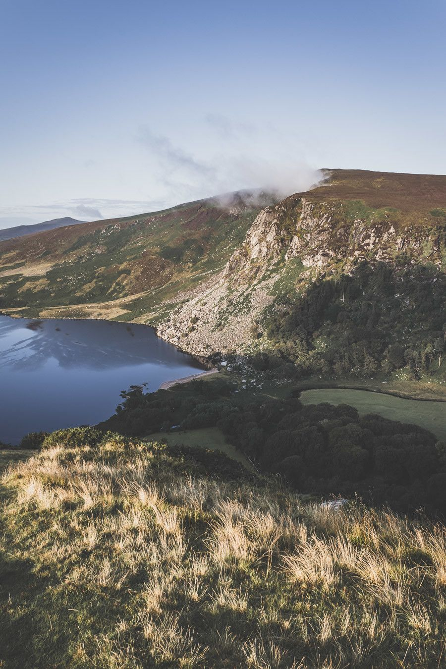 paysage irlande - lac guiness