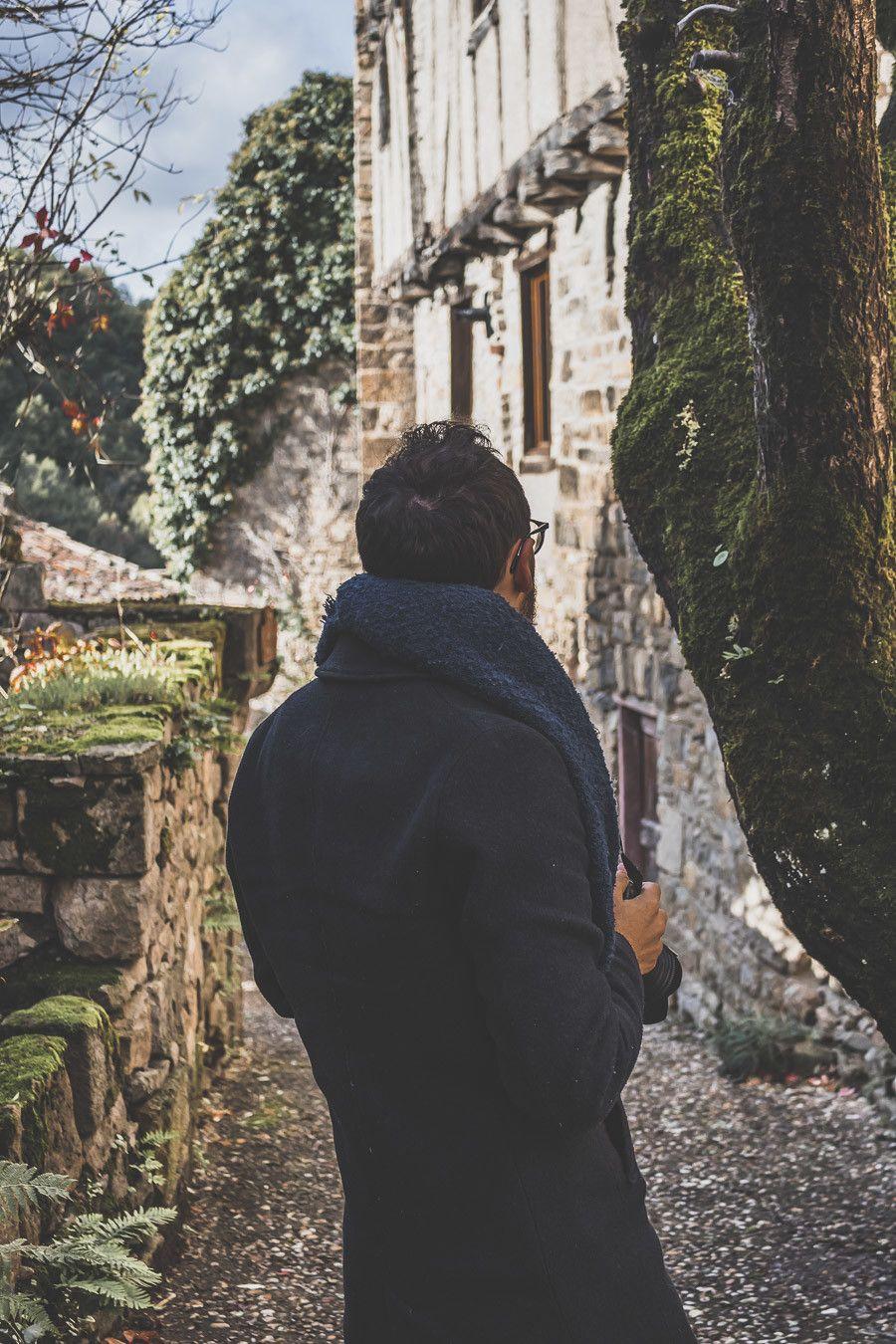 Village médiéval en Occitanie