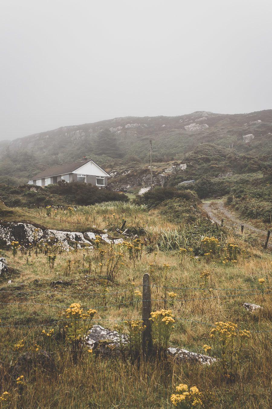 Les petites maisons de campagne en Irlande