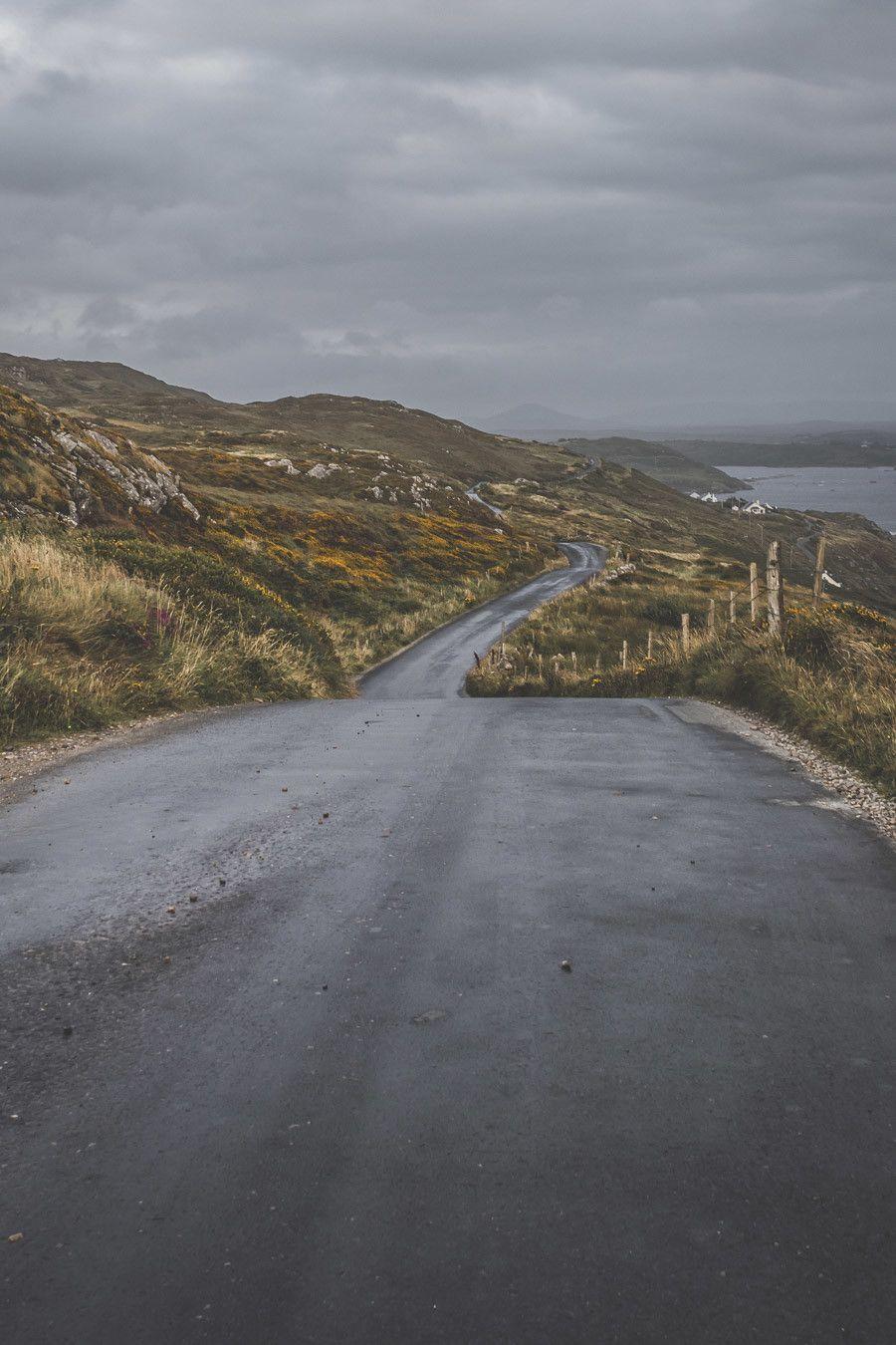routes irlandaises conduite à gauche
