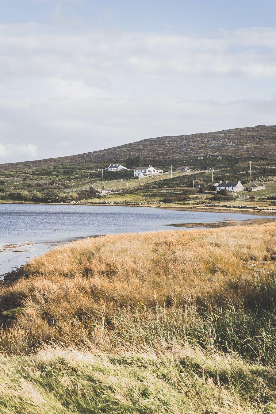 L'Atlantic Drive sur l'île d'Achill Islande