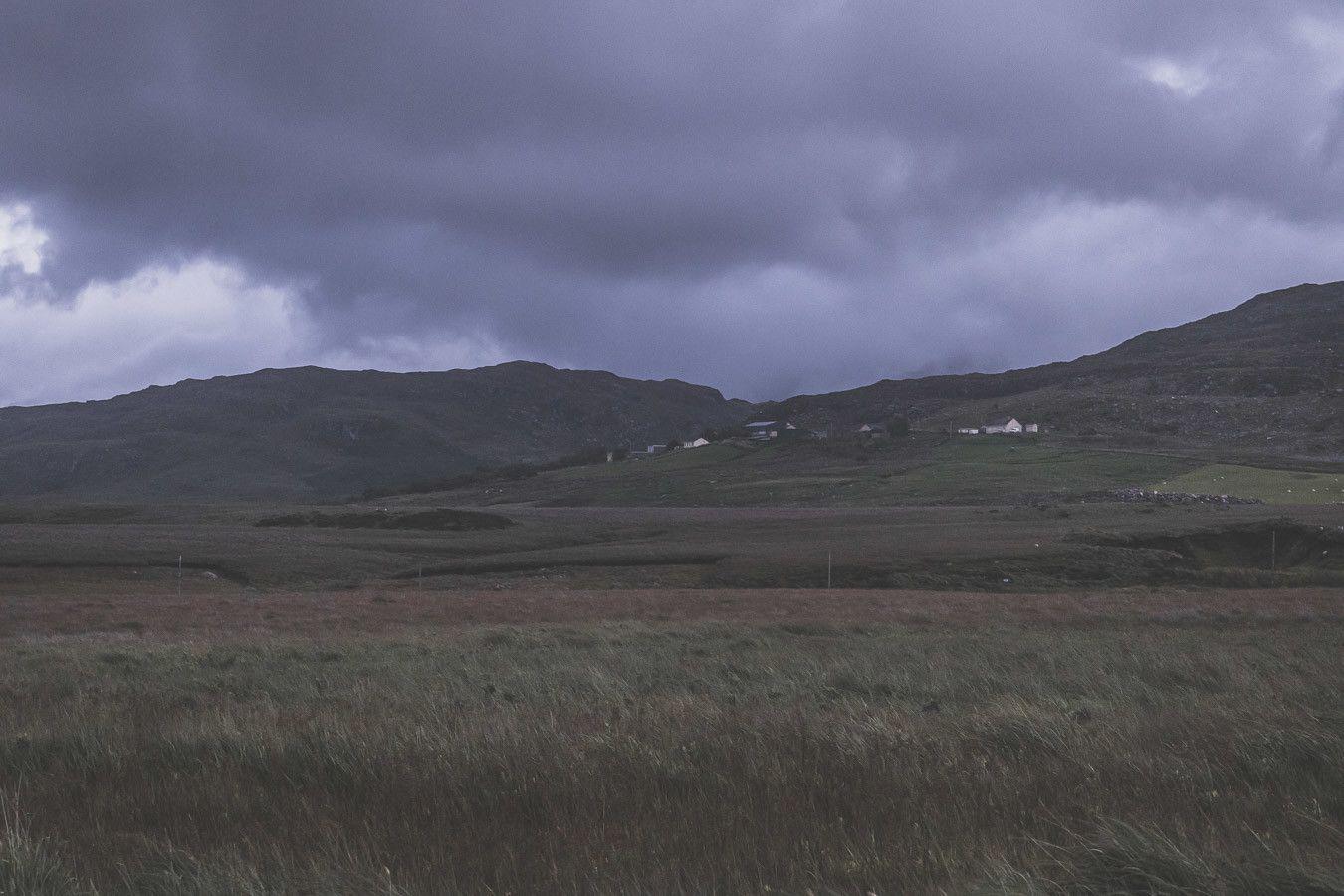 Rouler de nuit sur le Ballaghisheen Pass