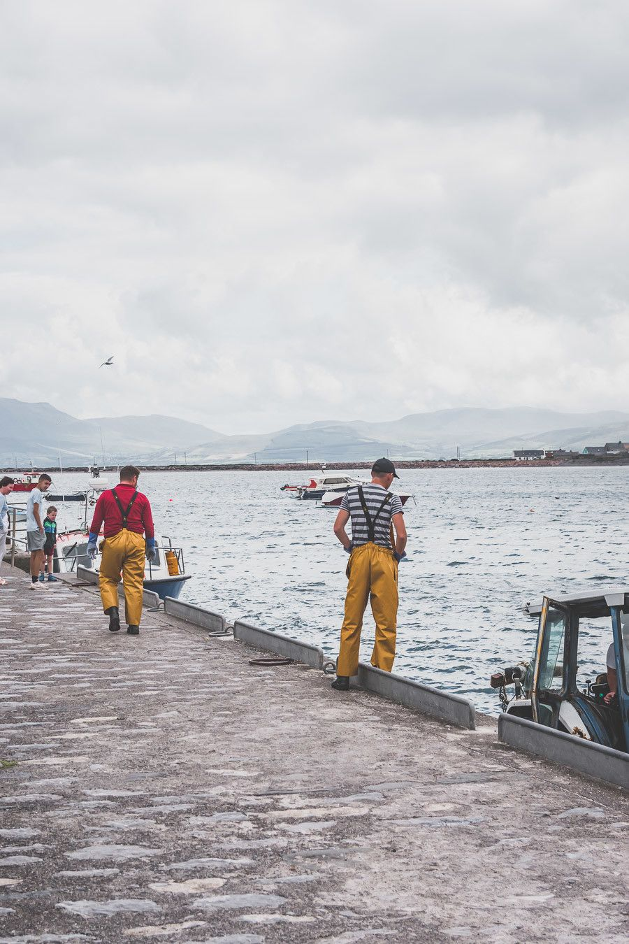 Petit port de pêche dans le Kerry