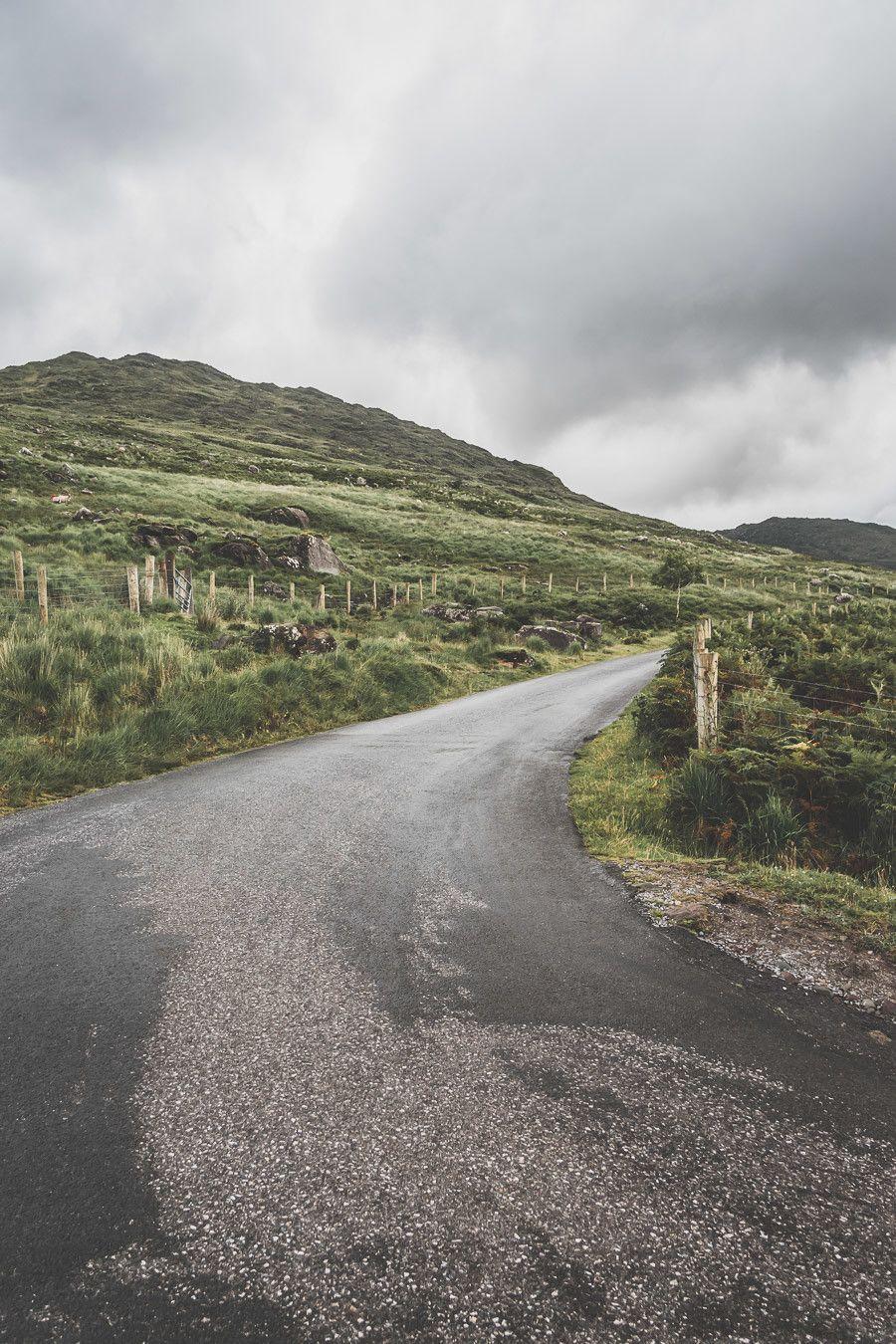 Les routes Irlandaises sinueuses