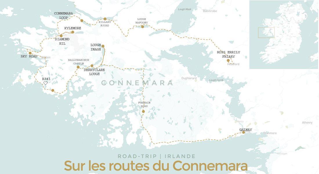 Visiter le Connemara