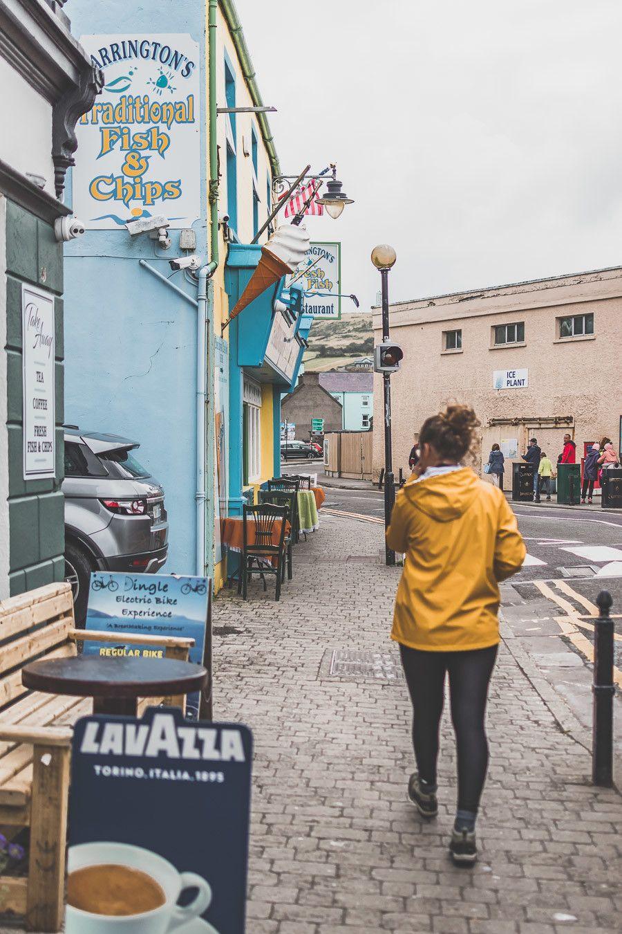 La ville colorée de Dingle en Irlande