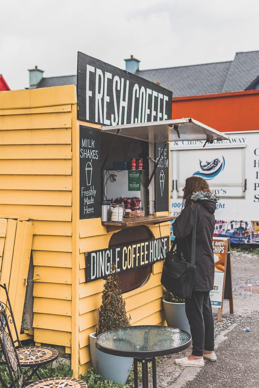 Un petit café pour se réchauffer en Irlande