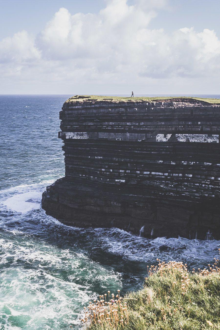 Downpatrick Head dans le comté de Mayo