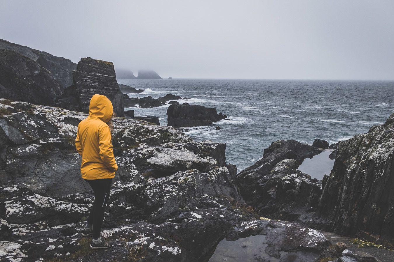 Falaises de la péninsule de Mizen Head en Irlande