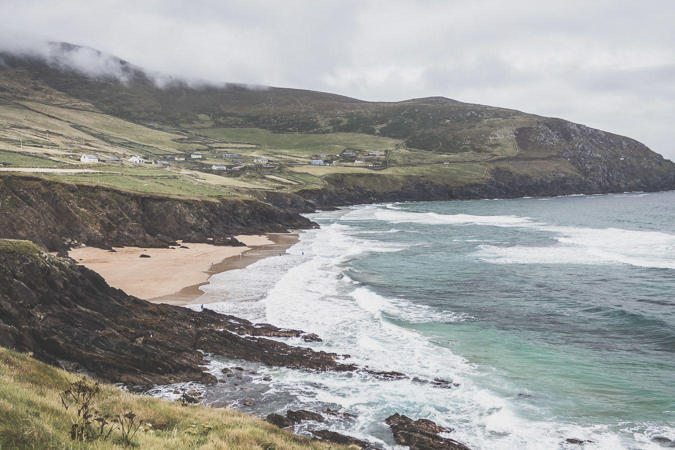Dunmore Head un paysage de carte postale