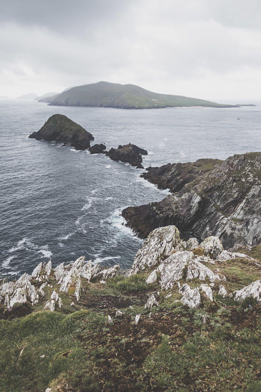 Dunmore Head en Irlande, lieu de tournage de Star Wars