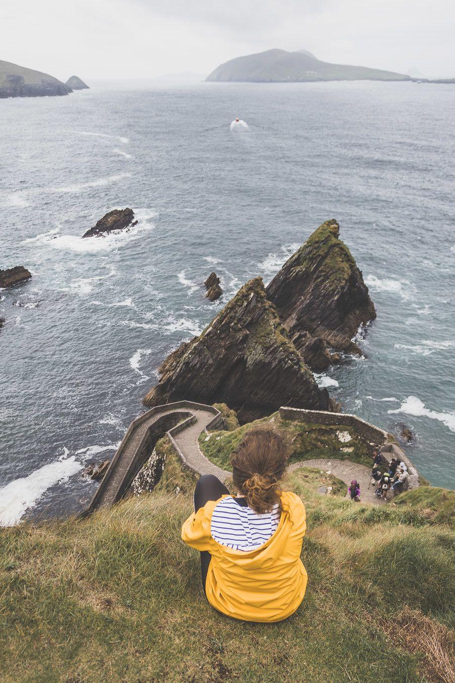 La magnifique vue depuis Dunquin Pier en Irlande
