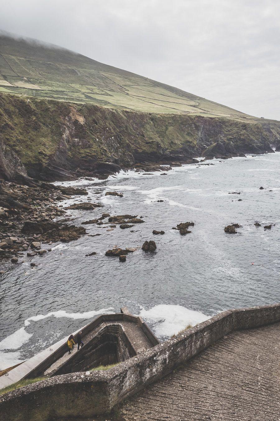 Le petit port de Dunquin Pier en Irlande