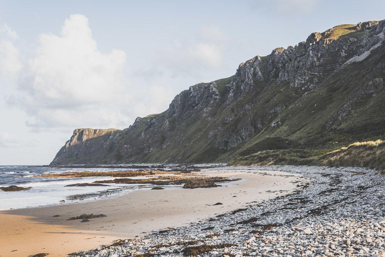 Plage, mer et falaises, le trio magique d'Irlande