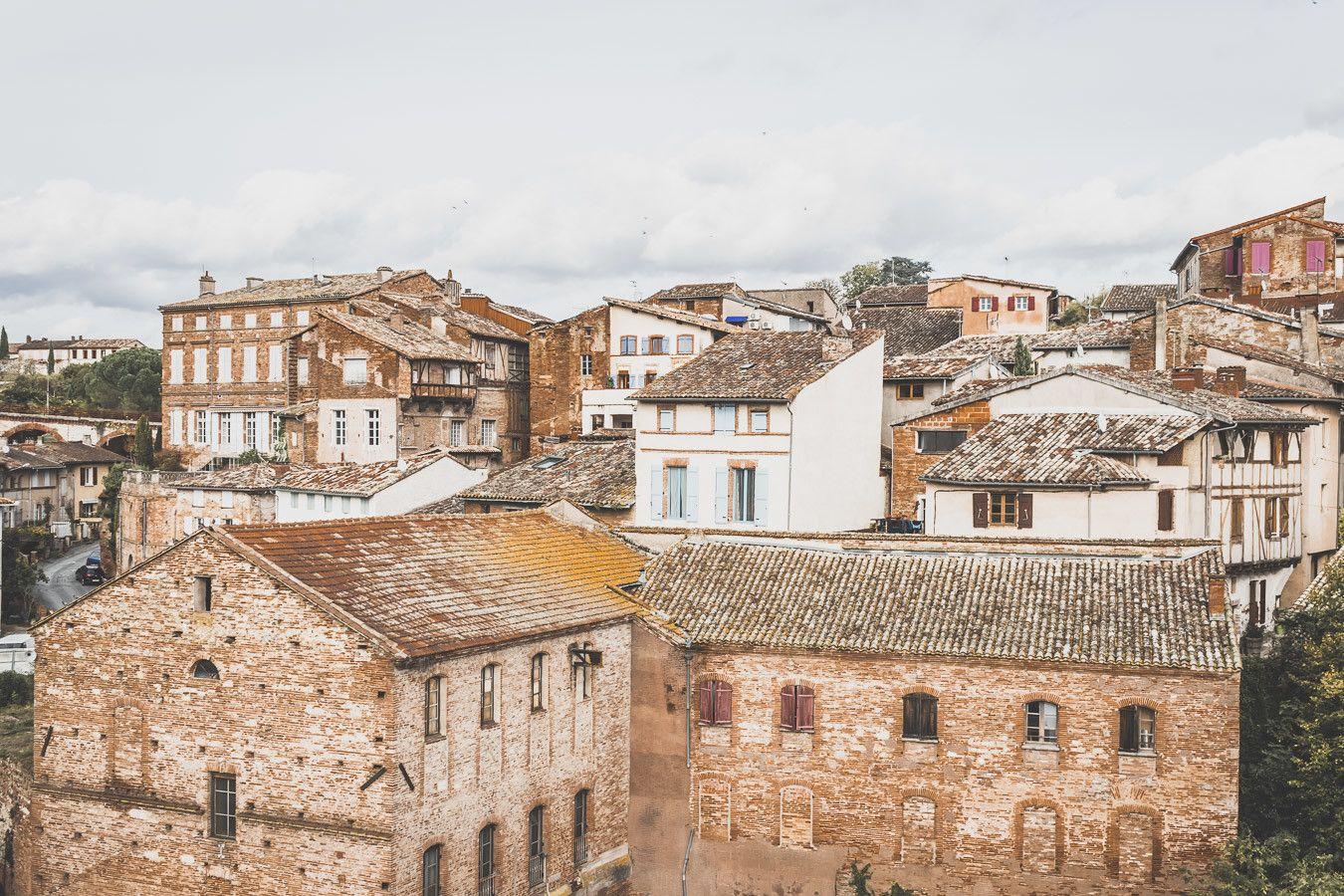 Gaillac, ville de briques rouges