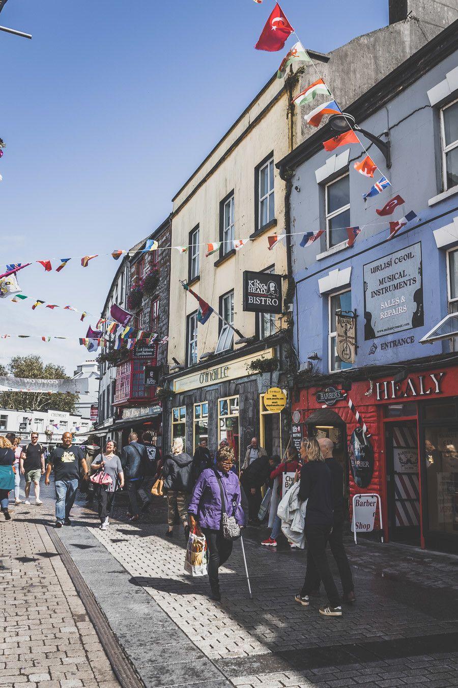 Galway Irlande - road trip en Irlande