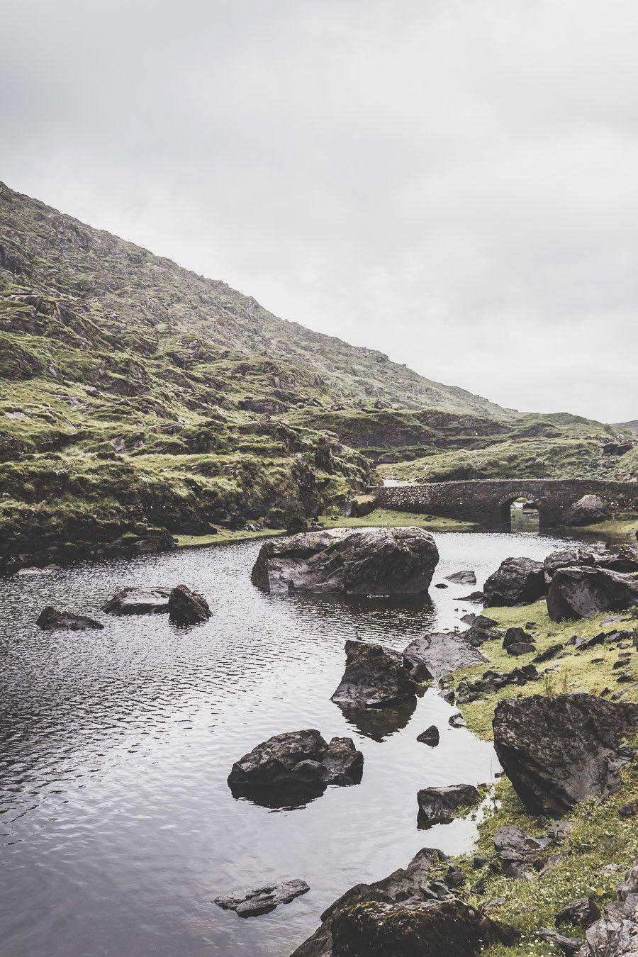 Le magnifique gap of Dunloe en Irlande