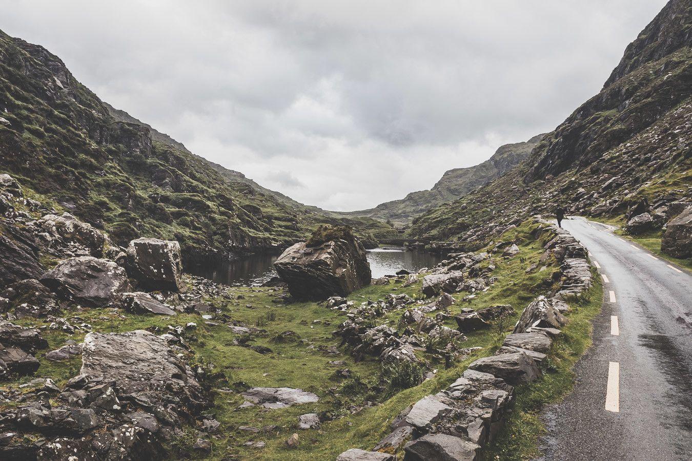 Les routes sinueuses du Gap of Dunloe