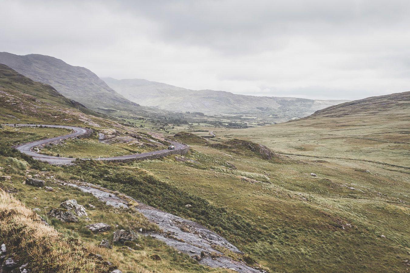 Les magnifiques routes d'Irlande