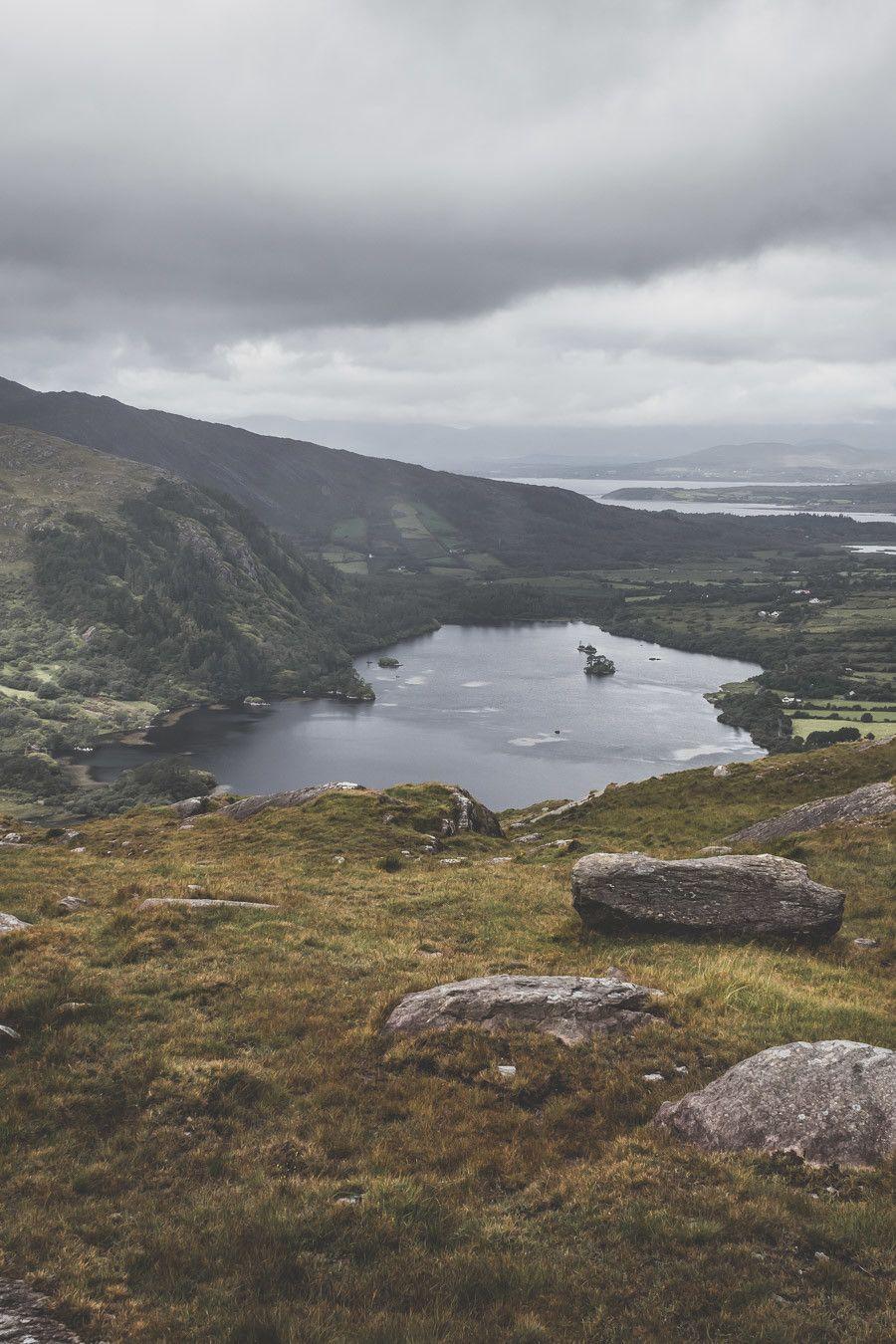 Lac de Montagne dans le comté de Kerry