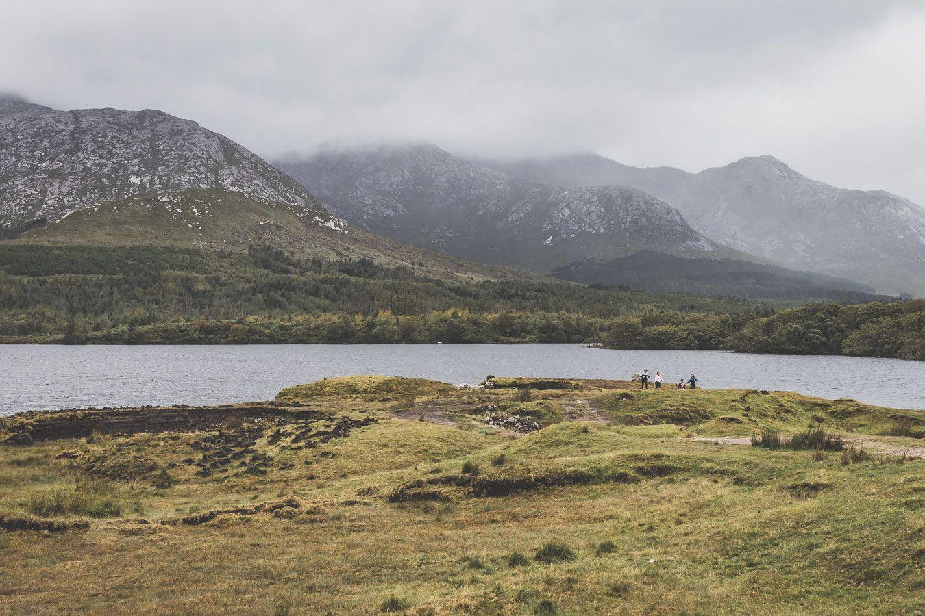 Lough Inagh - Visiter le Connemara