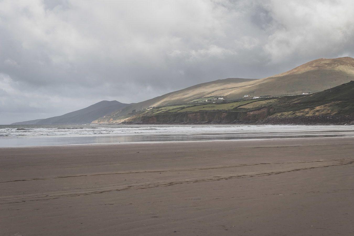 Inch beach, plage du Sud-Ouest de l'Irlande