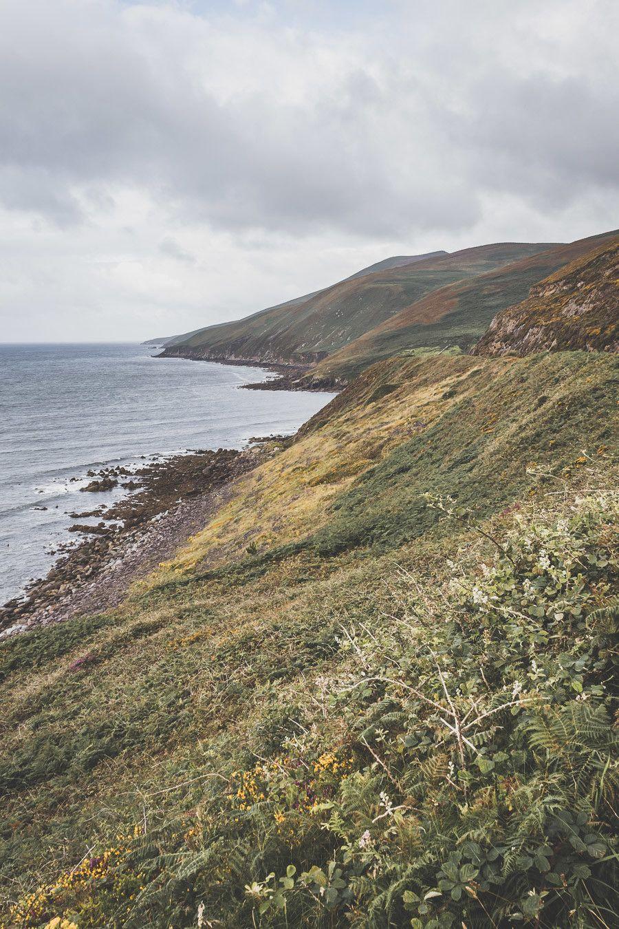 Inch beach, plage du Sud-Ouest du comté de Kerry
