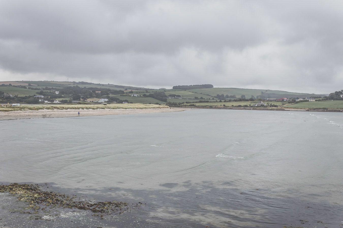 La plage d'Inchydoney Beach dans le comté de Cork en Irlande