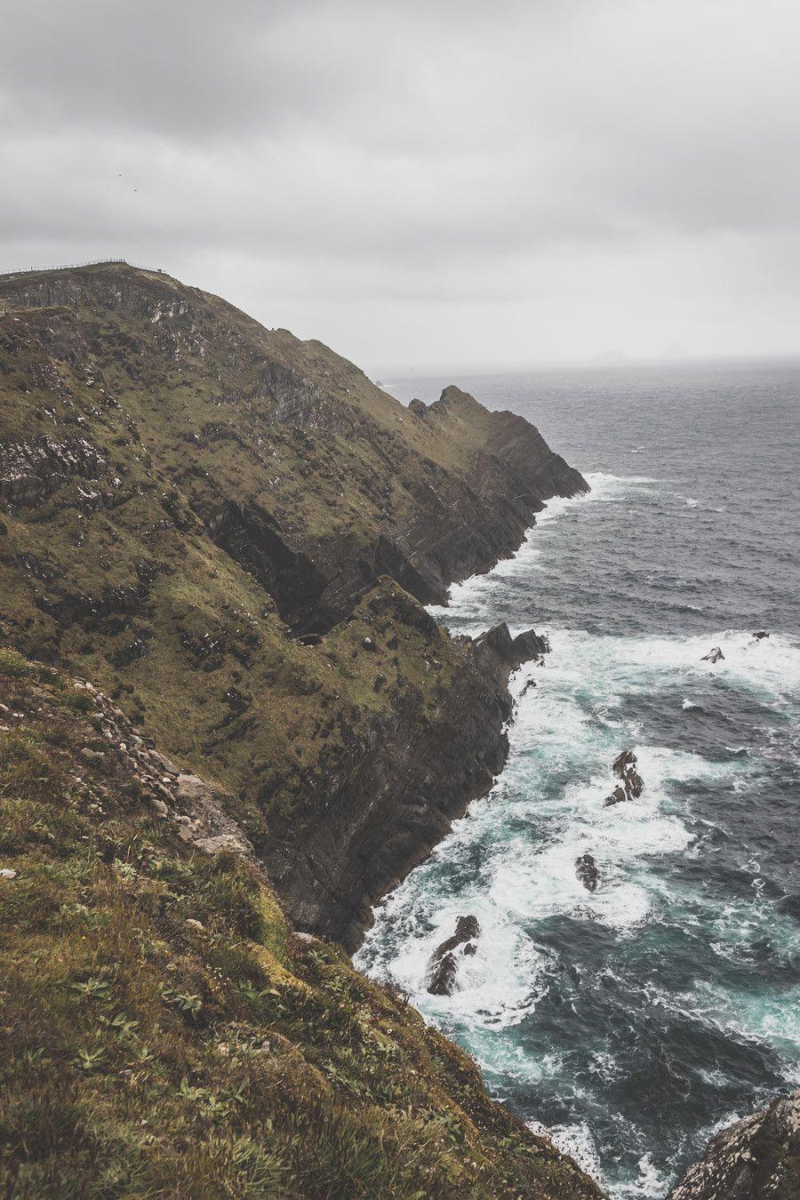 Les Kerry Cliffs dans le comté de Kerry