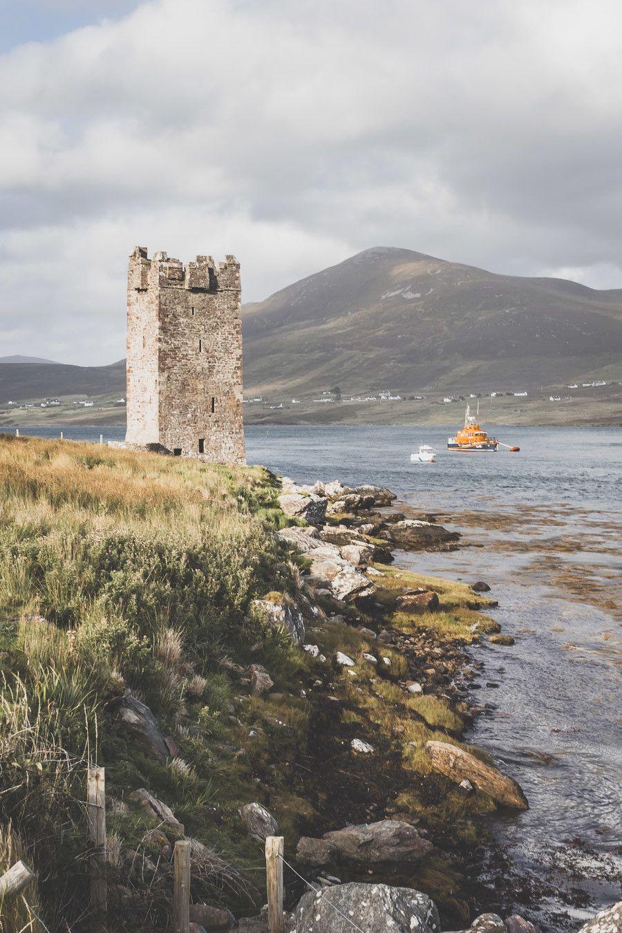 Spots photos le long de l'Atlantic Way dans le comté de Mayo