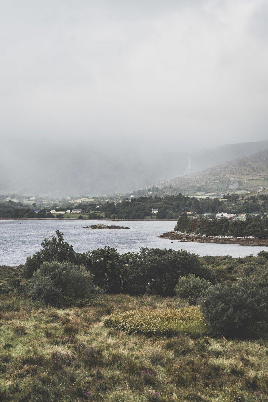 L'océan atlantique depuis le comté de Cork