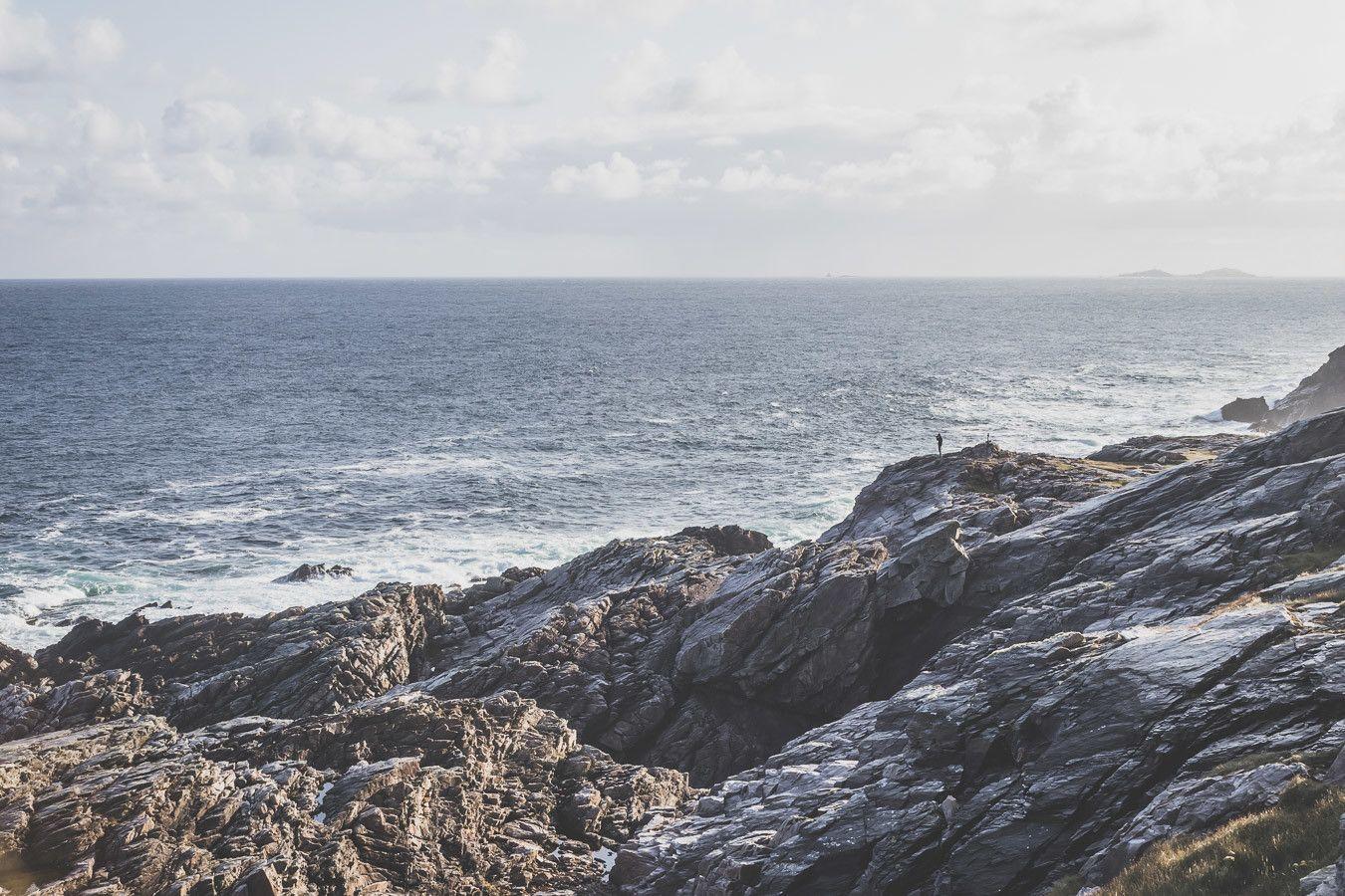 Les falaises irlandaises