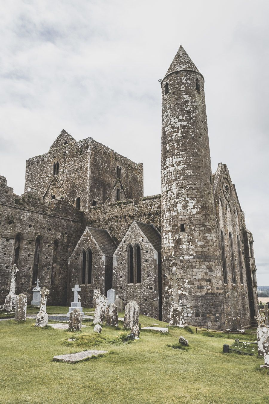 Le rock of Cashel dans le comté de Tipperary