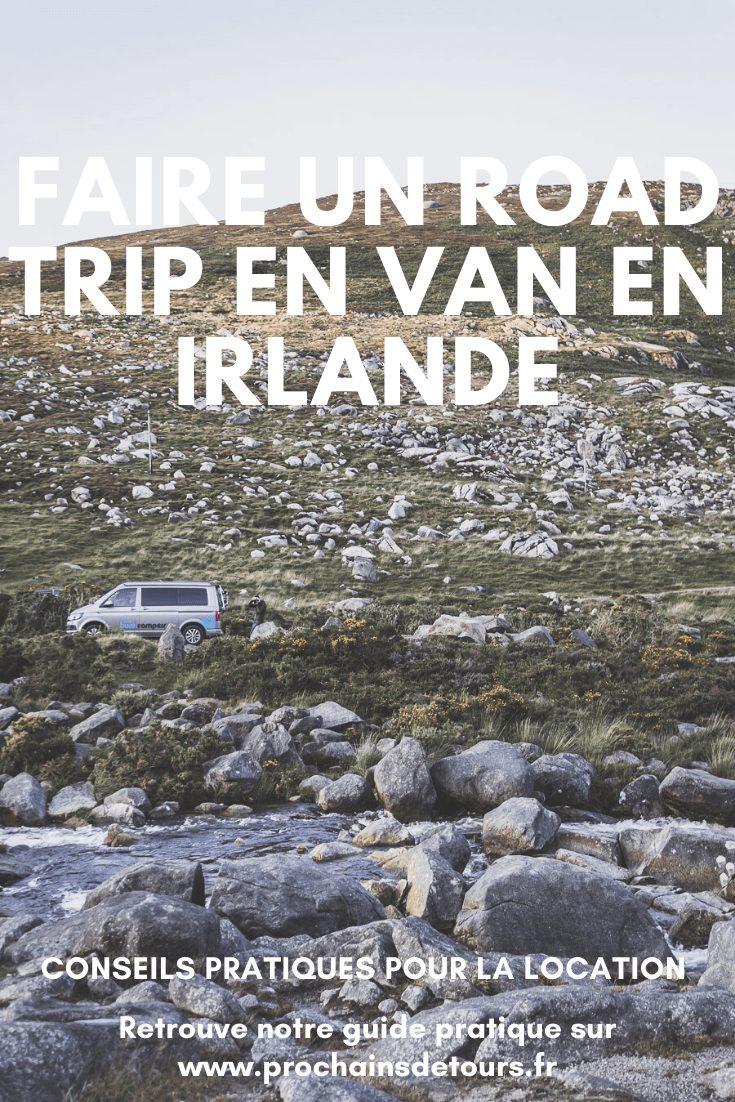 Vous rêvez de faire un road trip en Irlande ? Pensez à faire un road trip en van ! Le van, c'est le meilleur moyen pour découvrir l'Irlande. / Irlande road trip / Road trip Irlande / Irlande paysage / Irlande voyage / Voyage Irlande / Irlande voyage / Voyage Irlande / Voyage en Irlande / Carnet de voyage en Irlande / Carnet voyage Irlande / Beautiful Landscapes / Landscape photography / Road trip van / Road trip van organization / Van life / Van aménagé / Van aménagé astuces / Vacances insolites