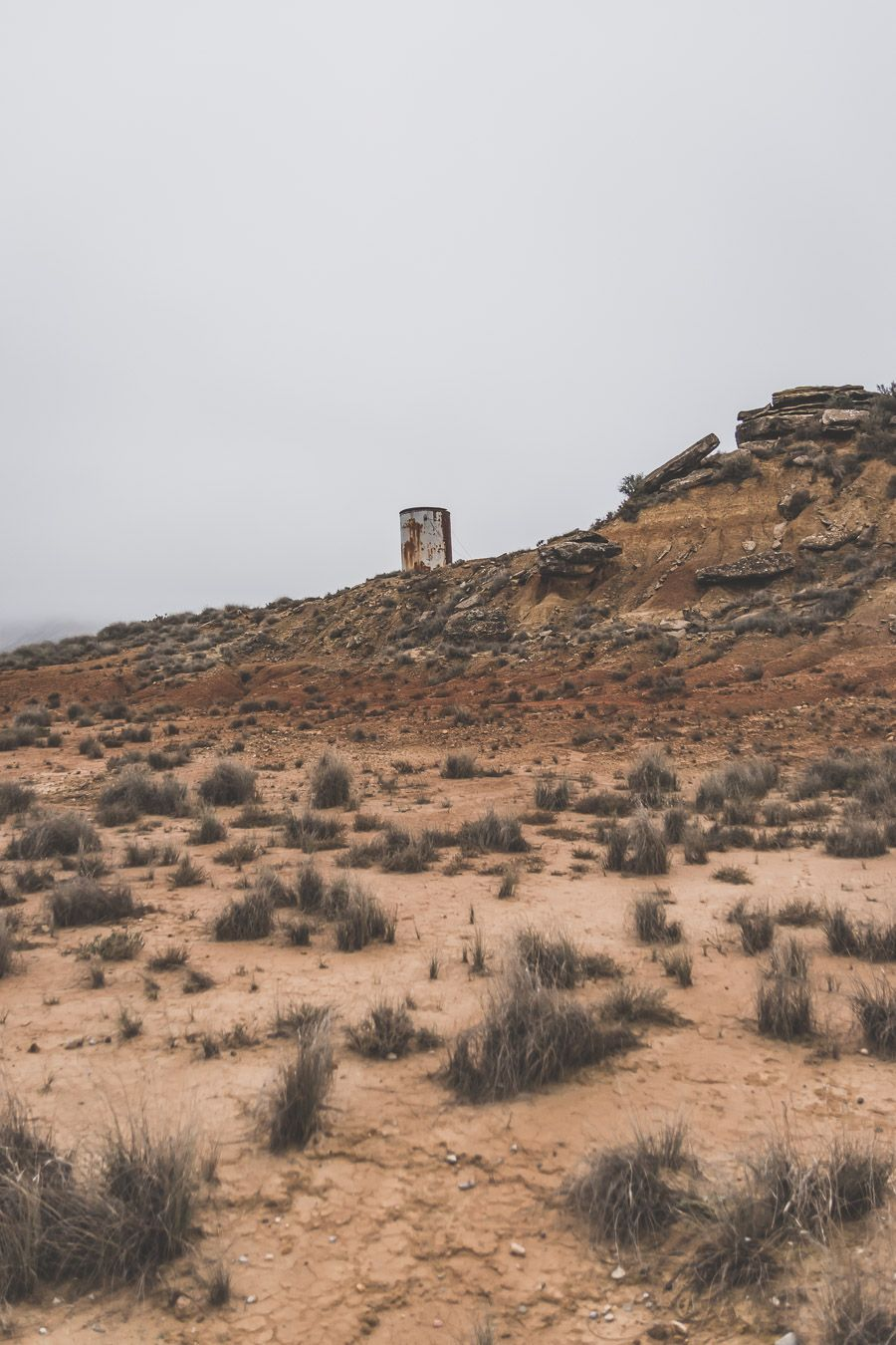 paysage désertique en Espagne