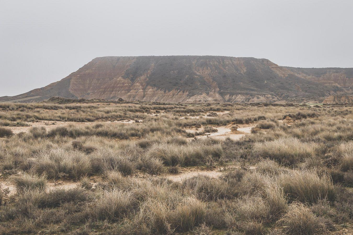 Montagne du désert des Bardenas