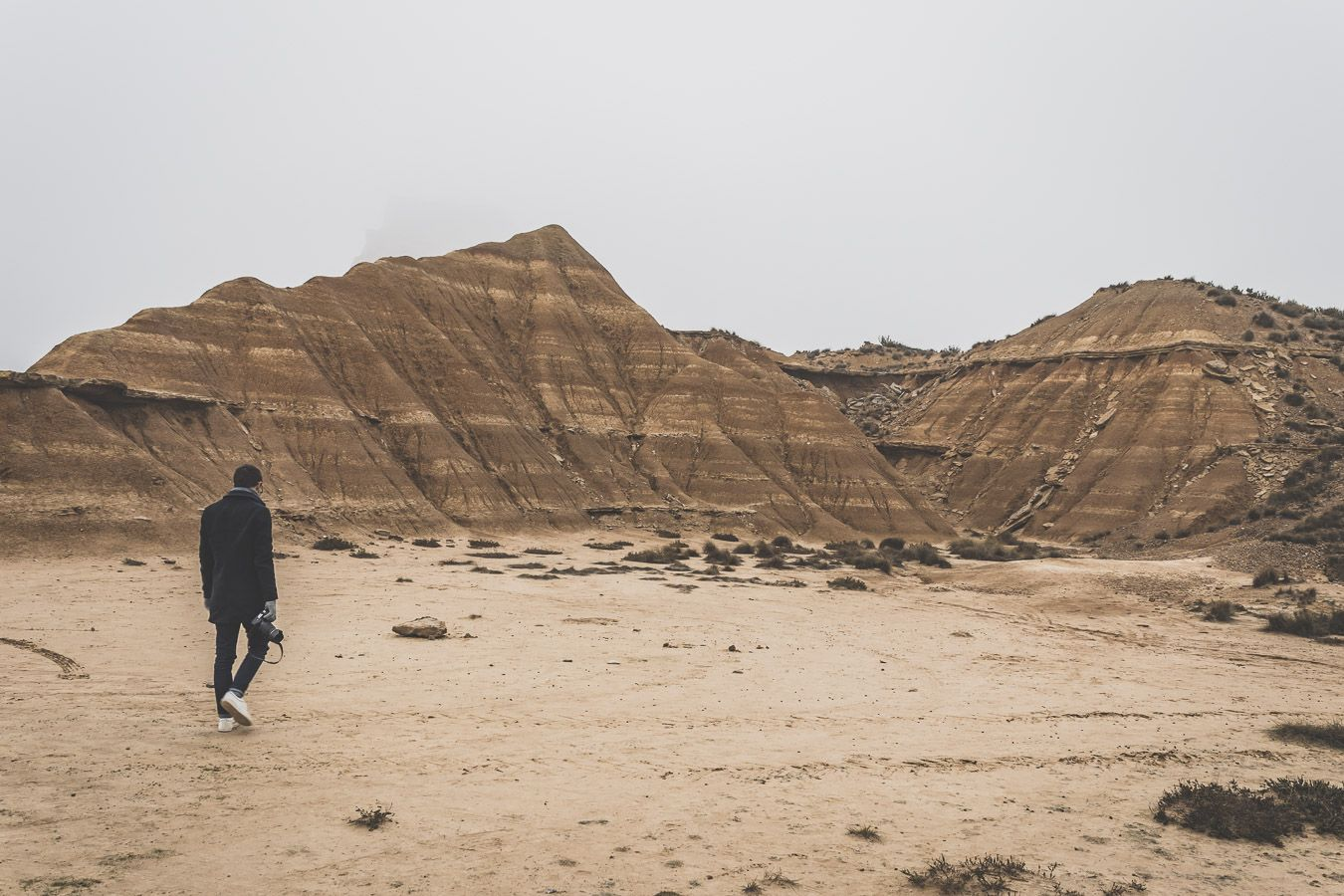 à l'assaut du désert