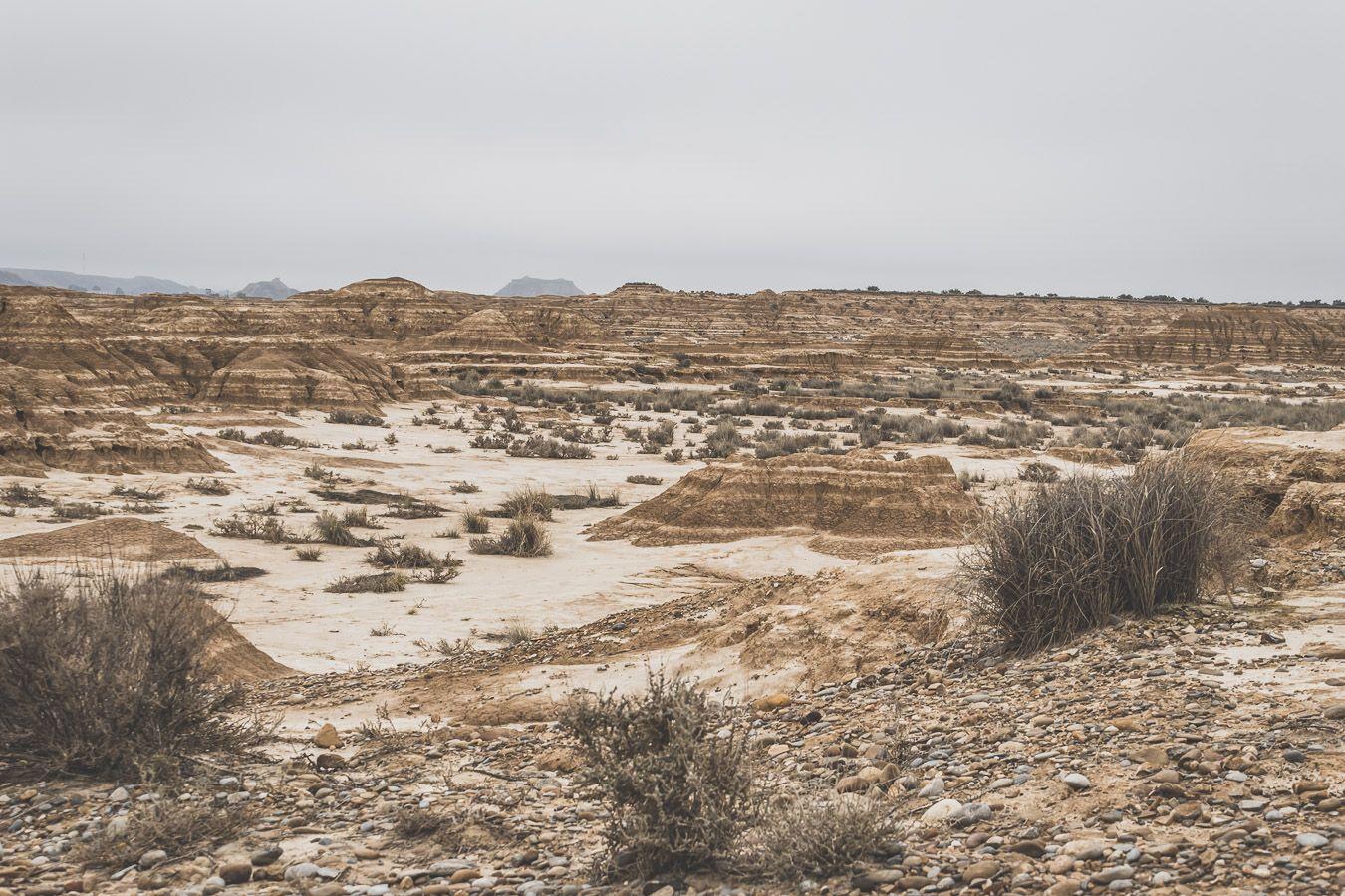 désert en Espagne