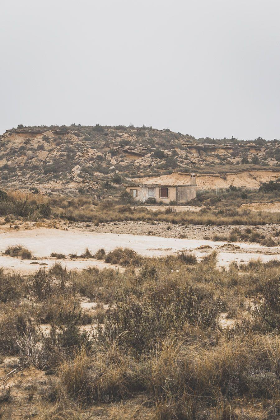 le désert des Bardenas Reales en Espagne