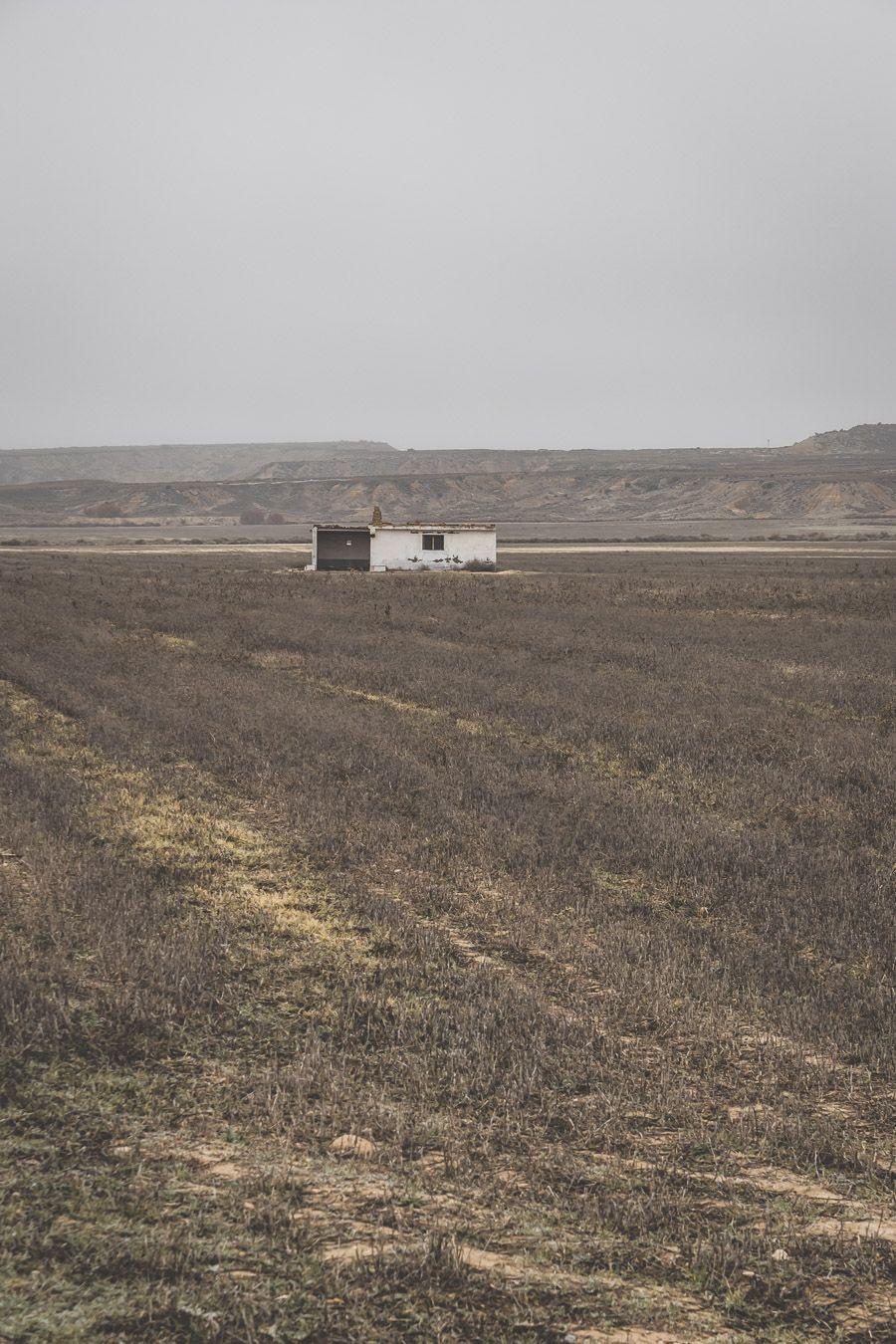 cabane abandonnée en Espagne