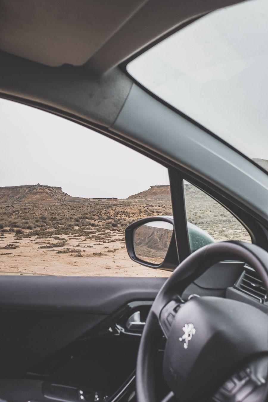 road trip dans le désert des Bardenas Reales