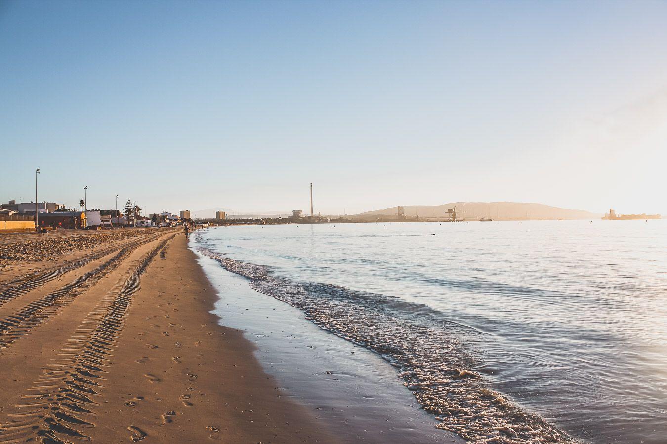 Coucher de soleil à Algeciras