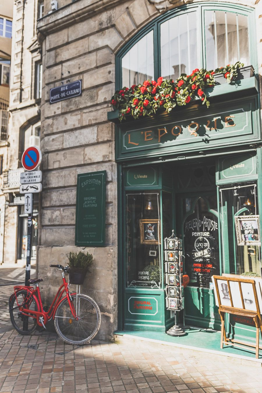 joli magasin à Bordeaux - Visiter Bordeaux en 2 jours